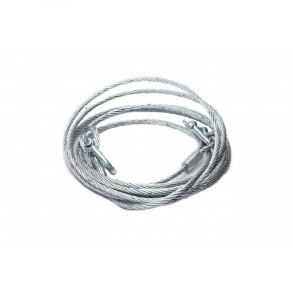 Cablu de tractare/remorcare auto din otel, sarcina maxima 5000 KG