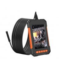 Camera inspectie endoscop cu display de 4.3 inch, 8 leduri, cablu de 2m, baterie 2600mAh, rezolutie HD 2MP 1920x1080