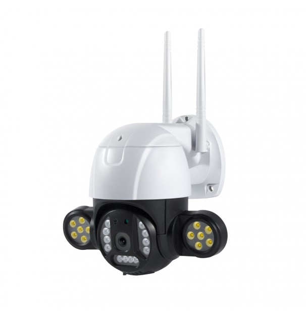 Camera Supraveghere video cu 24 de leduri 4MP 2560 x 1440, intelligent tracking, PTZ, WIFI, Micro SD, Interior si Exterior