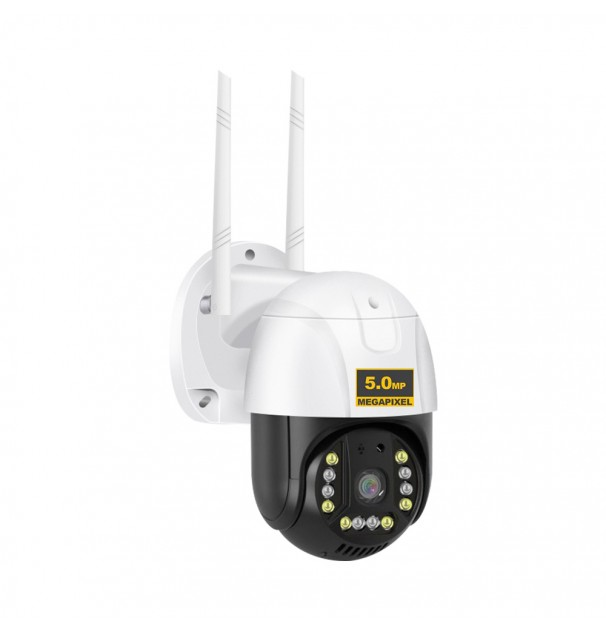 Camera Supraveghere video 4MP 2560 x 1440, intelligent tracking, PTZ, WIFI, Lan, AP hotspot, Micro SD , Rotire, Alarma miscare, Interior si Exterior