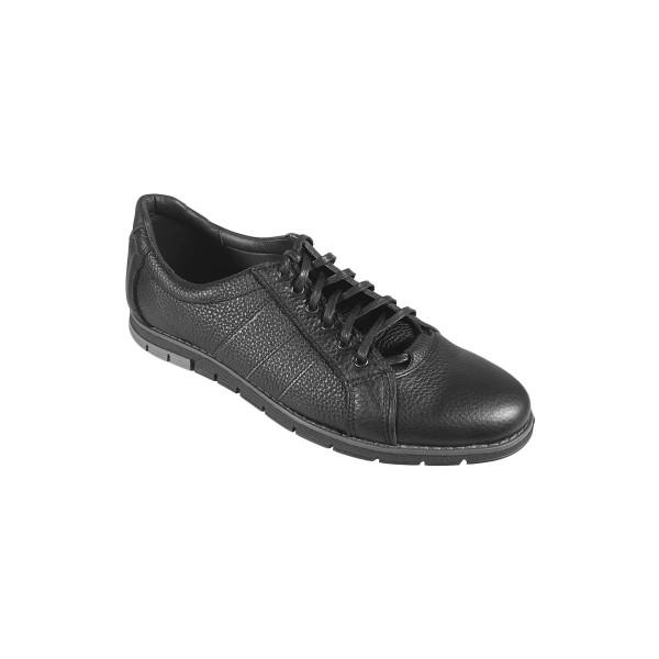 Pantofi casual de barbati din piele naturala Sami Negru marime 41