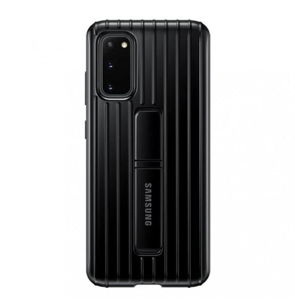 Husa Originala Samsung Galaxy Protective Standing Cover pentru Samsung S20 5G/ S20, Black