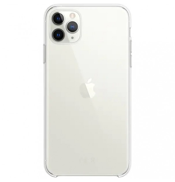 Husa originala APPLE pentru iPhone 11 Pro Max, silicon, Transparent