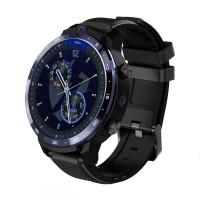 Ceas Smartwatch LEMFO LEM12, baterie 1800 mAh, 4 G, GPS,3 GB DDR3 + ROM 32 GB, 1.6 inch, procesor MT6739 Quad-Core 1.5Ghz, Negru