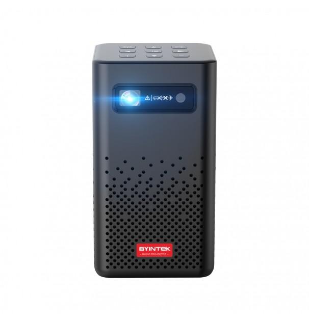 Videoproiector portabil Byintek P20 smart, android 9.0, acumulator 5200mAh, HDMI, 4K, 280 ANSI Lumeni, Bluetooth si wireless
