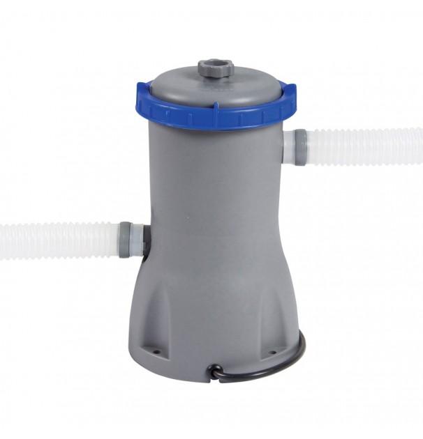 Pompa curatare piscina cu filtru inclus, Bestway 58381 Flowclear cu 2 furtune incluse, 1249 l/h, 16W