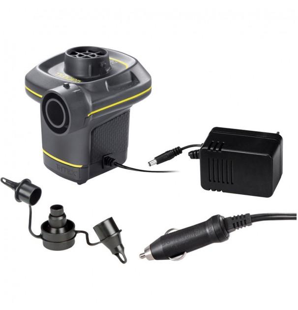 Pompa electrica Intex Quick-Fill DC 12V auto si AC220V pentru umflat si dezumflat